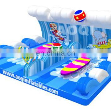 2015 new design surfing board inflatable game