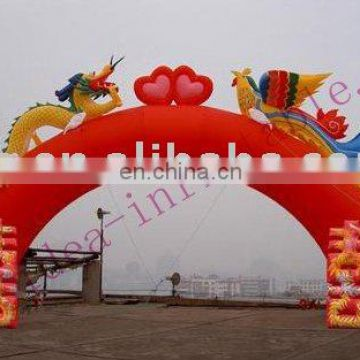 inflatable wedding arch