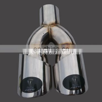 automobile repackingdual exhaust tips