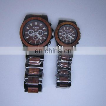 Luxury Ebony wooden watch