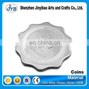 luxury custom pure sterling silver coins ag 999 silver coin