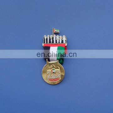 2018 UAE country flag element lapel pins badge celebrate Sheikh Zayed 100 years