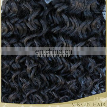 Hot sale!!!aliexpress hair 6A afro kinky curly clip in braiding hair extensions