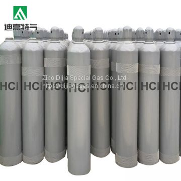 Colorless 99.9% high purity  industrial grade hcl gas