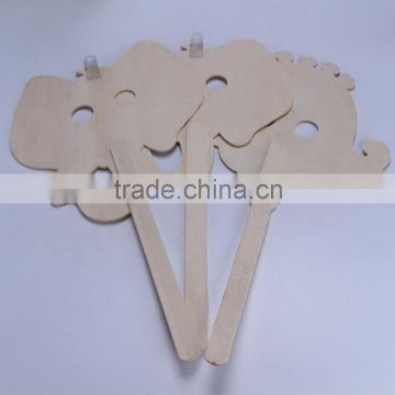 Wooden animal shaped wall holiday decoration animal shape sticker