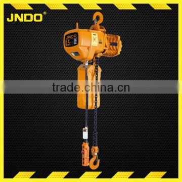 HHBB battery operated construction material electric chain hoist