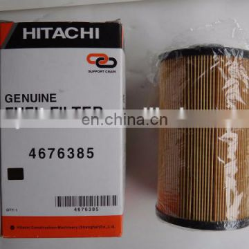 Genuine ZX870-3 /ZX250LC-3 4676385 fuel filter for auto