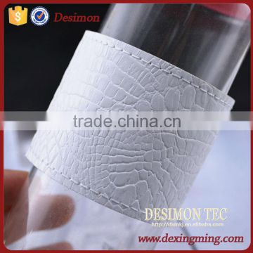 High quality OEM&ODM cup handmade sleeve cup leather cup sleeve