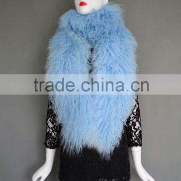 2016 New Products coat in Mongolian Lamb Fur from Chinese clothing manufacturers wholesale price