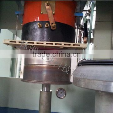 Pan bottom brazing machine for pan factory