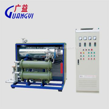 industrial electric thermal oil heater for heating laminator and calender