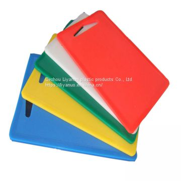 food grade high quality chopping blocks HDPE plastic meat cutting board