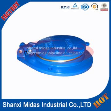 ductile cast iron non-return flap valve