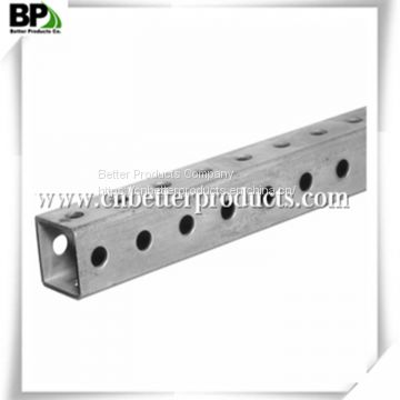 Galvanized Easy to install Square sign post square tube and u channel sign post