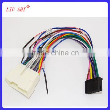 connector& 6 RCA plug wire harness for Car stereo system