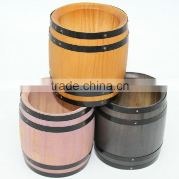 Small Wooden Barrelswooden Craft Barrelwooden Barrel With Color Of