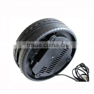 tire inflation pressure 12V portable air compressor mini tire inflator tire inflation