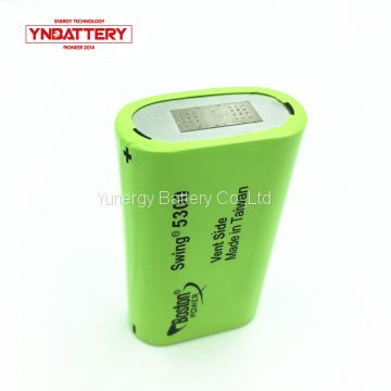 Rechargeable Lithium ion Boston Power Swing 5300mah battery for power bike