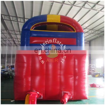 Red Blue Yellow giant big Obstacle Course inflatable Obstacle for sale