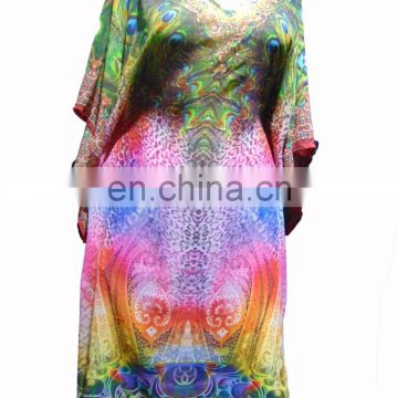 "42"" KAFTAN DRESSES ONLINE SHOPPING INDIA LONG MODEST DIGITAL PRINT MAXI"