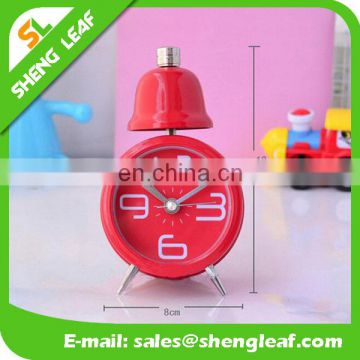 Metal Twinbell alarm clock Cheap Small Alarm Clock
