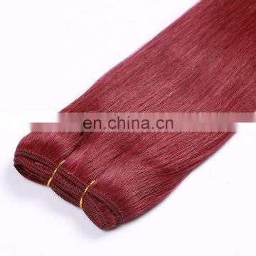 Best Quality Grade 7A Hot selling Alibaba hair wax red one chinese hair bundles