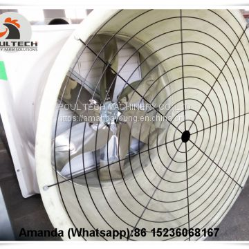 Tajikistan Hot Sale Poultry Farming Equipment Exhaust Fan & Ventilation System & Air Cooler/Air Heater & Cone Fans in Poultry & Livestock Farm