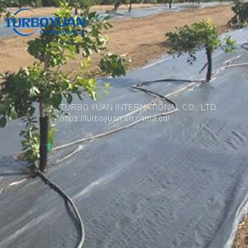 heavy duty black plastic weed barrier matting weed control fabric for agriculture