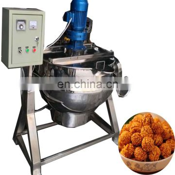 high capacity gas electric heated chili sauce tomato paste making machine tomato sauce boiling machine