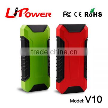 Mutil-Function lithium battery jump starter, minus 45 degrees start, support 12V gasoline & diesel vehicle jump start
