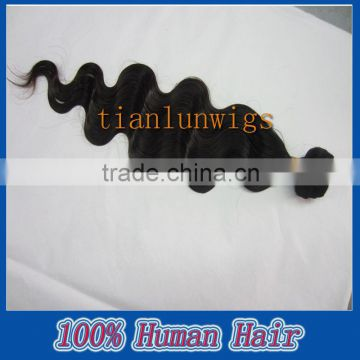 100% Brazilian virgin remy human hair,20inch,body wave,5A hair extensions