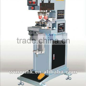 WN-123AE WINON Two Color Inkcup Pad Printing Machine of Pad