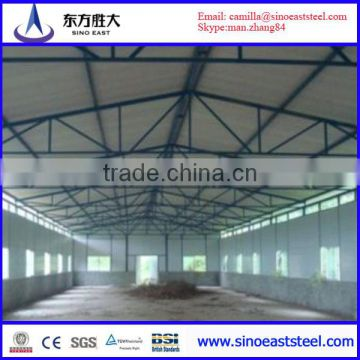 Steel Structure Design Poultry Farm Shed Factory Of Steel Structure