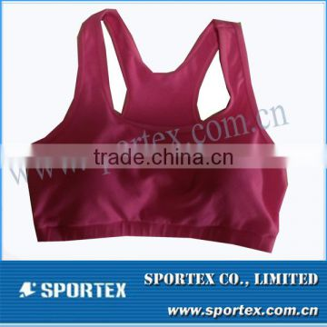 Women athletic wear, fitness tops, gym sports bra