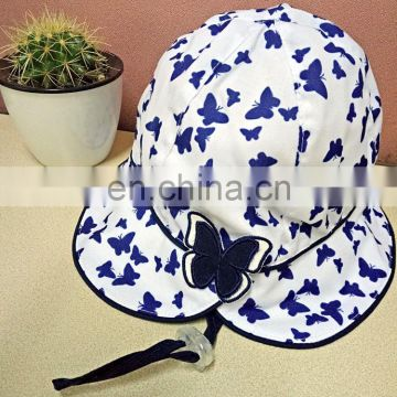 Butterfly Back Bucket Hat