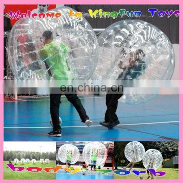 PVC/TPU Football/soccer Bubble games,Battle Bulldog 2014
