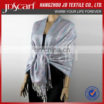 Keep warm in winter scarf elegant for woman when dress beautiful lady viscose stole JDC-265