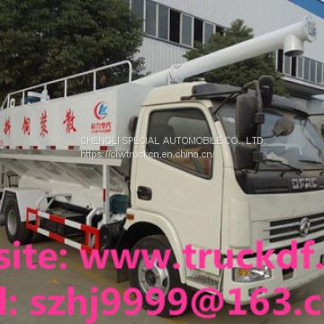 2018s best price 12m3 5tons poultry feed transported truck for sale