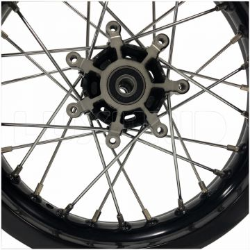 CNC aluminum alloy motorcycle wheel hub for CRF150