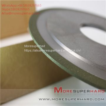 14a1 resin diamond and CBN mixed bond grinding wheel  Alisa@Moresuperhard.com