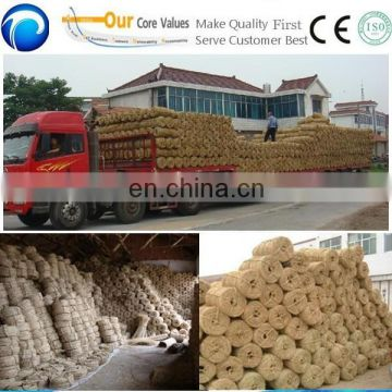 Rice Straw Rope Making Production Machine | Hay Straw Knitting Machine | Reed Straw Rope Spinning Farm Machinery Equipment