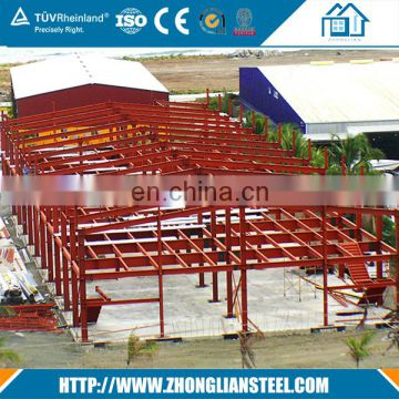 Construction ready made cheap prefabricated light steel structure house