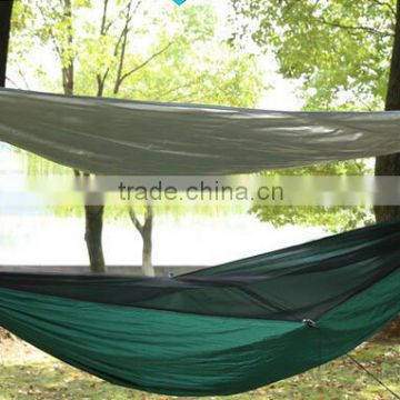 Large size double persons Parachute Hammock with mosquito netting and canopy Tarp                                                                         Quality Choice
