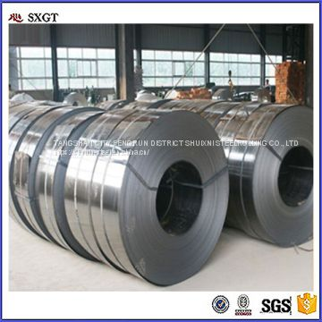 galvanized steel strips in coil / Black Steel Metal Strapping / Steel Packing Strip