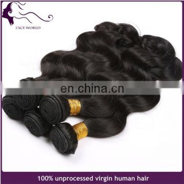Best quality virgin brazilian hair weave wholesale remy human hair weft