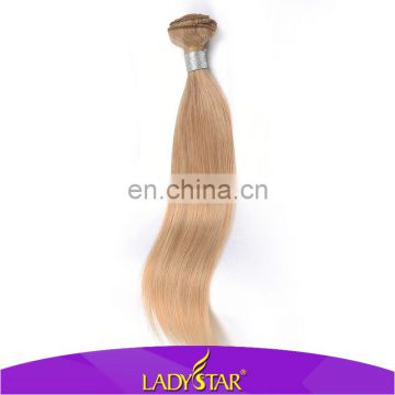 27# Brazilian human hair sew in weave/good thick hair weft/wholesale hair weave