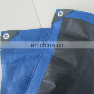 12ftx12ft(3.65mx3.65m) dark blue heavy duty tarpaulin 200gsm