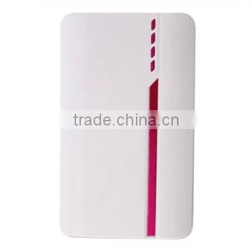 Outtos high capacity travel charger super slim 8000mah power bank