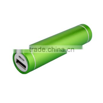 Portable charger tube cylinder power bank 2200mAh