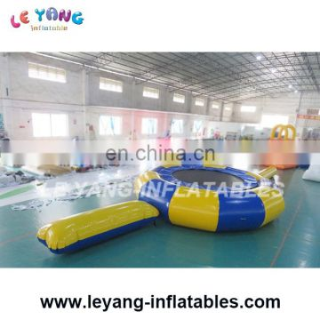 5m Commercial Inflatable Water Trampoline For Sale , Large Orbit Water Trampoline For Adult Or Kids Water Sport Game